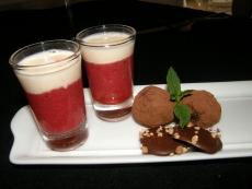 מרק תות טראפלס שוקולד